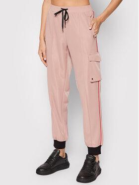 Liu Jo Sport Liu Jo Sport Spodnie materiałowe TF1058 J6241 Różowy Regular Fit