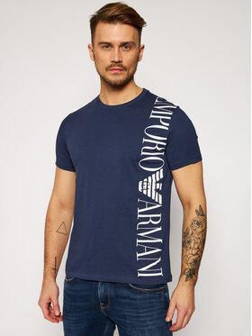 Emporio Armani Emporio Armani T-Shirt 211831 1P469 06935 Granatowy Regular Fit