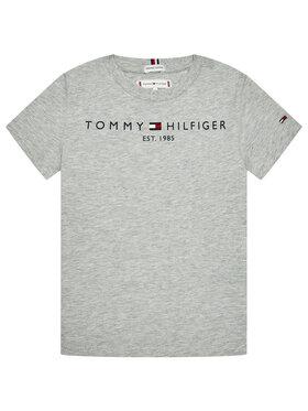 Tommy Hilfiger Tommy Hilfiger T-Shirt Essential KS0KS00210 Szary Regular Fit