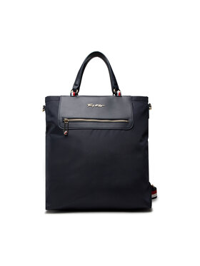 Tommy Hilfiger Tommy Hilfiger Geantă Tommy Fresh Tote Corp AW0AW10217 Bleumarin