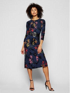 Desigual Desigual Džemper haljina Koko 21SWVK24 Tamnoplava Slim Fit