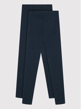 NAME IT NAME IT Set de 2 leggings 13180828 Bleu marine Slim Fit