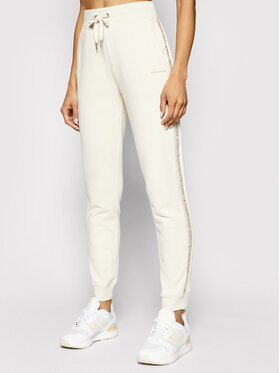 Calvin Klein Jeans Calvin Klein Jeans Pantaloni trening J20J215458 Bej Tapered Fit