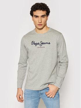 Pepe Jeans Pepe Jeans Тениска с дълъг ръкав Eggo Long PM501321 Сив Regular Fit