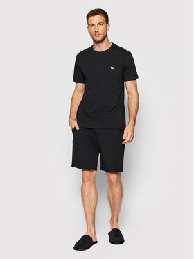 Emporio Armani Underwear Emporio Armani Underwear Piżama 111573 1A720 07320 Czarny