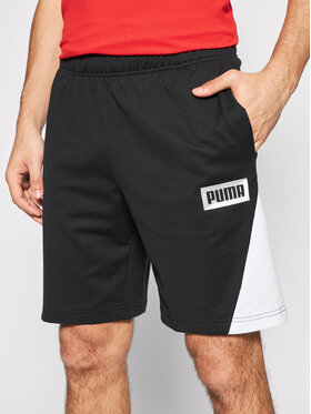 Puma Puma Αθλητικό σορτς Summer Print 584167 Μαύρο Regular Fit