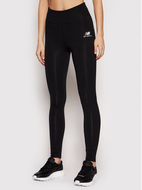 New Balance New Balance Leggings Tighty Athletics Core NBWP01519BK Fekete Fitted Fit
