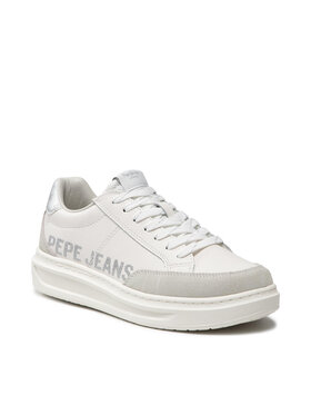 Pepe Jeans Pepe Jeans Sneakersy Abbey Willy PLS31196 Bílá
