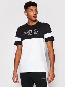 Fila Fila T-Shirt Jadon Blocked 683257 Kolorowy Regular Fit