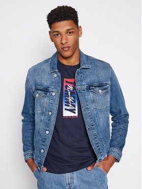 Tommy Jeans Tommy Jeans Traper jakna Trucker DM0DM10297 Plava Regular Fit