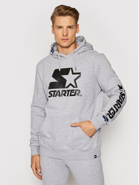 Starter Starter Mikina SMG-001-BD Sivá Regular Fit