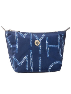 TOMMY HILFIGER TOMMY HILFIGER Несесер Poppy Washbag Print AW0AW08430 Тъмносин