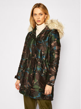 Guess Guess Parka Trudy W0BL63 W94M0 Multicolore Regular Fit