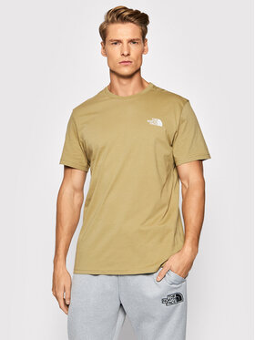 The North Face The North Face Тишърт Simple Deme Tee NF0A2TX5P Бежов Regular Fit