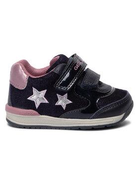 Geox Geox Sneakersy B Rishon G. A B940LA 077HI C4PK8 Tmavomodrá