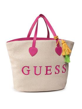 Guess Guess Дамска чанта E92Z13 WO03E Бежов