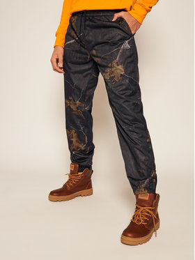 HUF HUF Spodnie materiałowe Network PT00135 Czarny Regular Fit