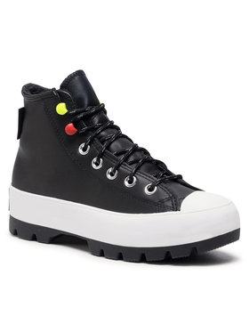 Converse Converse Кецове Ctas Lugged Winter Hi 569554C Черен
