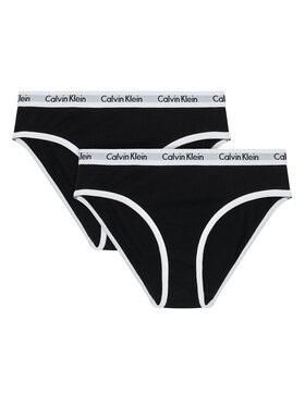 Calvin Klein Underwear Calvin Klein Underwear Set 2 perechi de chiloți de damă G80G800434 Negru