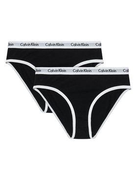 Calvin Klein Underwear Calvin Klein Underwear Súprava 2 párov nohavičiek G80G800434 Čierna