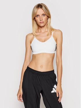 adidas adidas Sportski grudnjak All Me 3-Stripes FL2378 Bijela