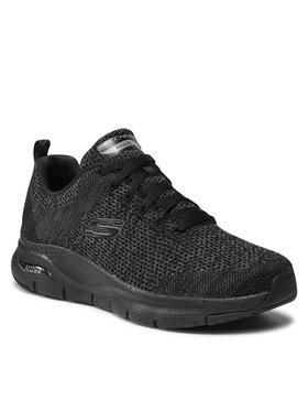 Skechers Skechers Sneakersy Paradyme 232041/BBK Czarny