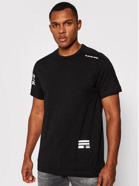 G-Star Raw G-Star Raw T-Shirt Multi Logo D18195 C336 6484 Czarny Regular Fit