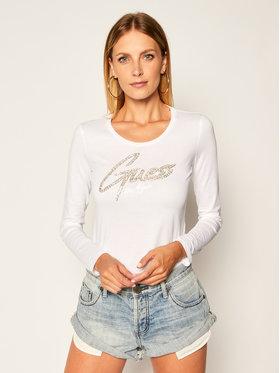 Guess Guess Halenka Camilla W0YI65 JA900 Bílá Slim Fit