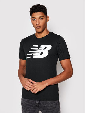 New Balance New Balance Marškinėliai MT03919 Juoda Regular Fit