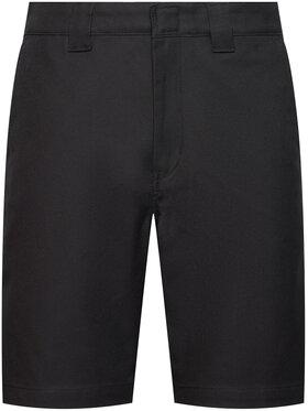 Dickies Dickies Pantalon scurți din material Cobden DK0A4XESBLK Negru Regular Fit
