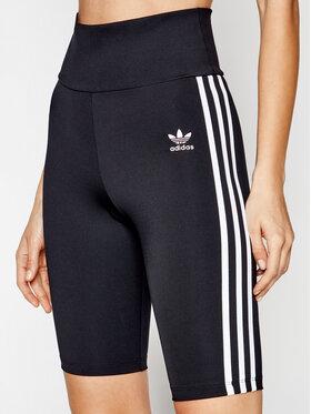 adidas adidas Sportske kratke hlače adicolor Classics GN2842 Crna Slim Fit