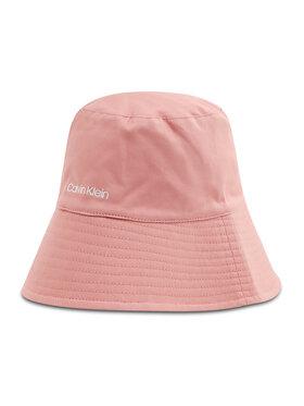 Calvin Klein Calvin Klein Klobouk Oversized Rev Bucket Hat K60K607982 Růžová