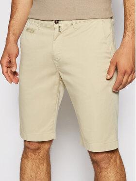 Pierre Cardin Pierre Cardin Pantalon scurți din material 3465/000/2080 Bej Bermuda Fit