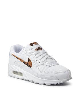 Nike Nike Обувки Air Max 90 Ax DH4115 100 Бял