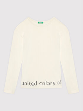 United Colors Of Benetton United Colors Of Benetton Halenka 3EG9C15FY Bílá Regular Fit