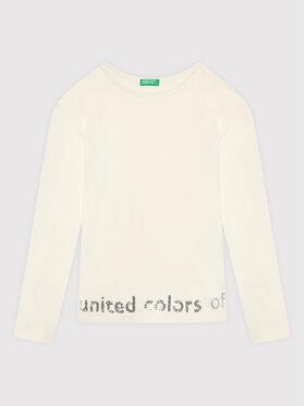 United Colors Of Benetton United Colors Of Benetton Μπλουζάκι 3EG9C15FY Λευκό Regular Fit