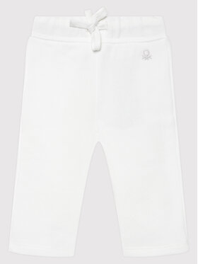United Colors Of Benetton United Colors Of Benetton Долнище анцуг 3J70I0046 Бял Regular Fit