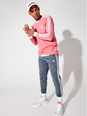 adidas adidas Долнище анцуг GN3529 Зелен Fitted Fit