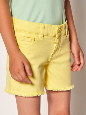Guess Guess Stoffshorts K02D06 WCTF0 Gelb Regular Fit