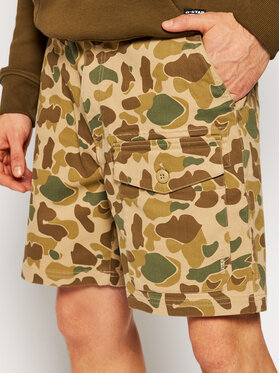 Quiksilver Quiksilver Stoffshorts Scout Hunter 20 Inch EQMWS03115 Braun Staight Fit