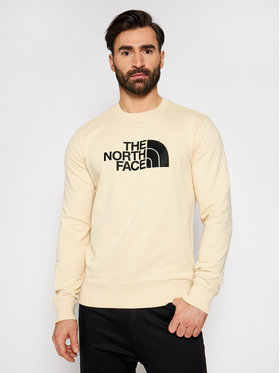 The North Face The North Face Majica dugih rukava Drew Peak Crew NF0A4T1ERB61 Bež Regular Fit