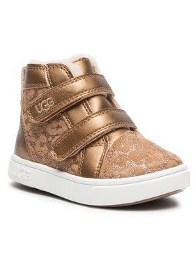 Ugg Ugg Kotníková obuv T Rennon II Glitter Leopard 1116137T Hnědá