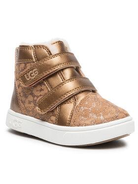 Ugg Ugg Обувки T Rennon II Glitter Leopard 1116137T Кафяв