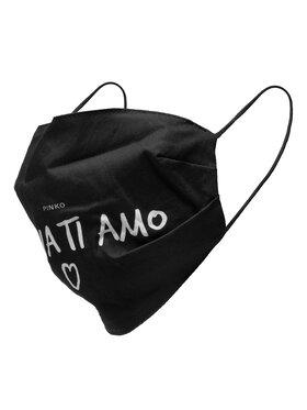 Pinko Pinko Masque en tissu Malizia Mascherina 20202 PRR 1N20CG.Y6XS Noir