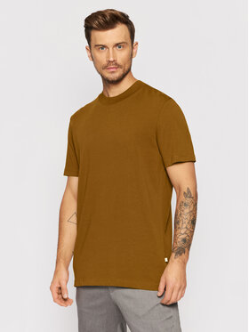 Selected Homme Selected Homme T-Shirt Colman 200 16077385 Hnědá Relaxed Fit