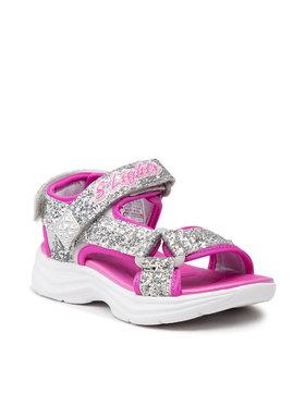 Skechers Skechers Sandales Glittery Glam 302965L/SLHP Argent