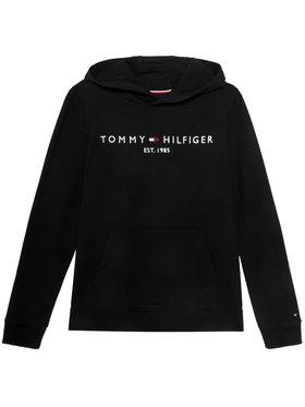TOMMY HILFIGER TOMMY HILFIGER Mikina Essential Hoodie KB0KB05796 D Černá Regular Fit
