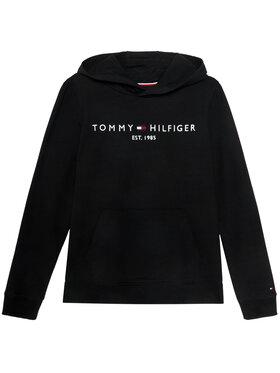 TOMMY HILFIGER TOMMY HILFIGER Μπλούζα Essential Hoodie KB0KB05796 D Μαύρο Regular Fit