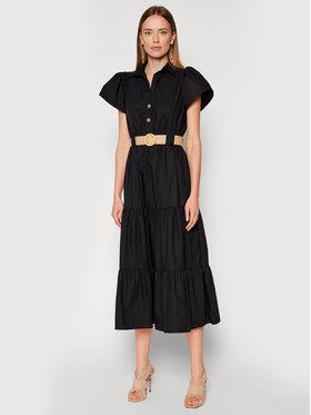 Rinascimento Rinascimento Kleid für den Alltag CFC0017900002 Schwarz Regular Fit