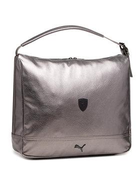 Puma Puma Sac à main Sf Ls Hobo Handbag 075514 01 Argent